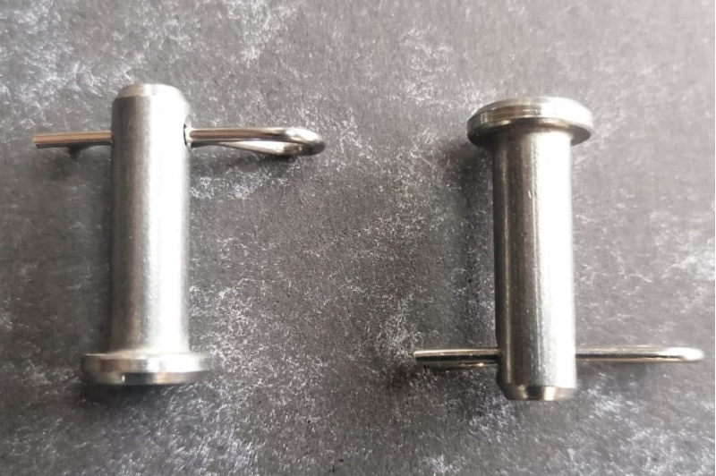 mgf and mgtf stainless steel handbrake clevis pin and r clip