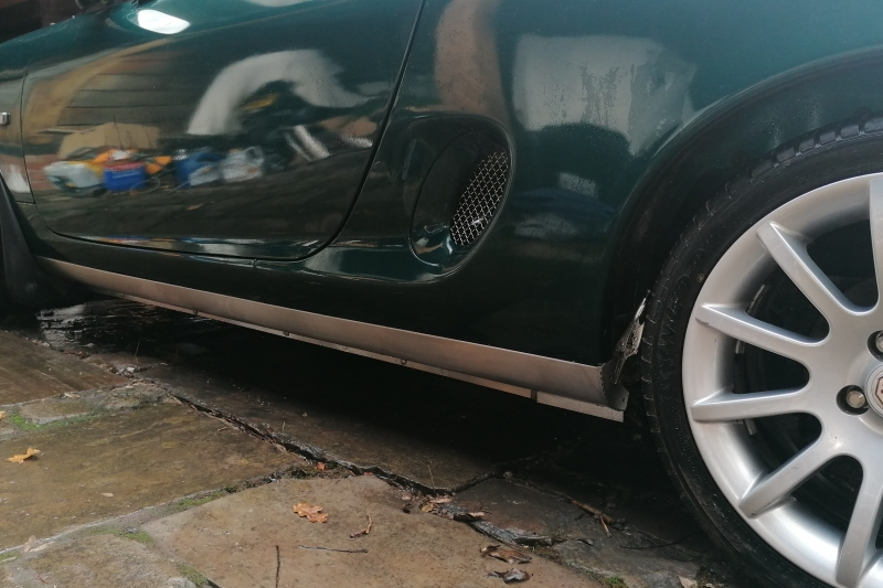 mgf stainless steel sill protection cover