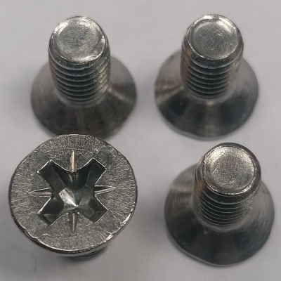mgf and  mgtf stainless steel break disc retaining screws set of four