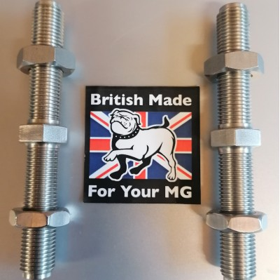 mgf rear tie bar adjuster in stainless steel