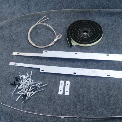 mgf and mgtf stainless steel hood fitting kit
