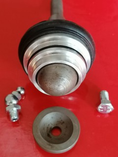 knuckle joint assembly - mgf - standard ride height