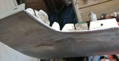 mgf front sill repair sections