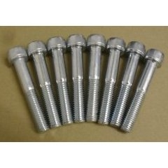 brake caliper bolts ap set of 8 now stainless steel