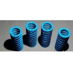 lowering springs and adaptor plate - mgtf - blue