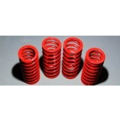 lowering springs and adaptor plate - red - mgtf